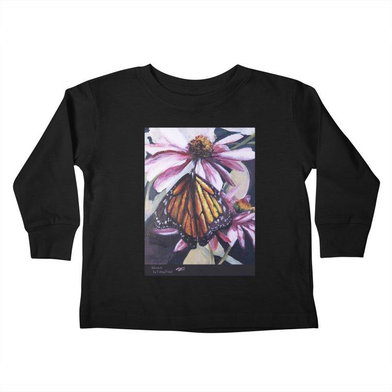 Monarch Kids Toddler Longsleeve T-Shirt by Tobey Finkel's Artist Shop