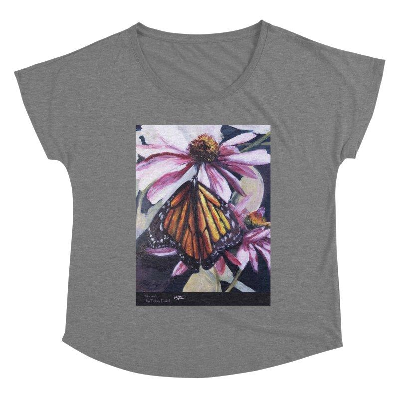 Monarch Women's Scoop Neck by Tobey Finkel's Artist Shop