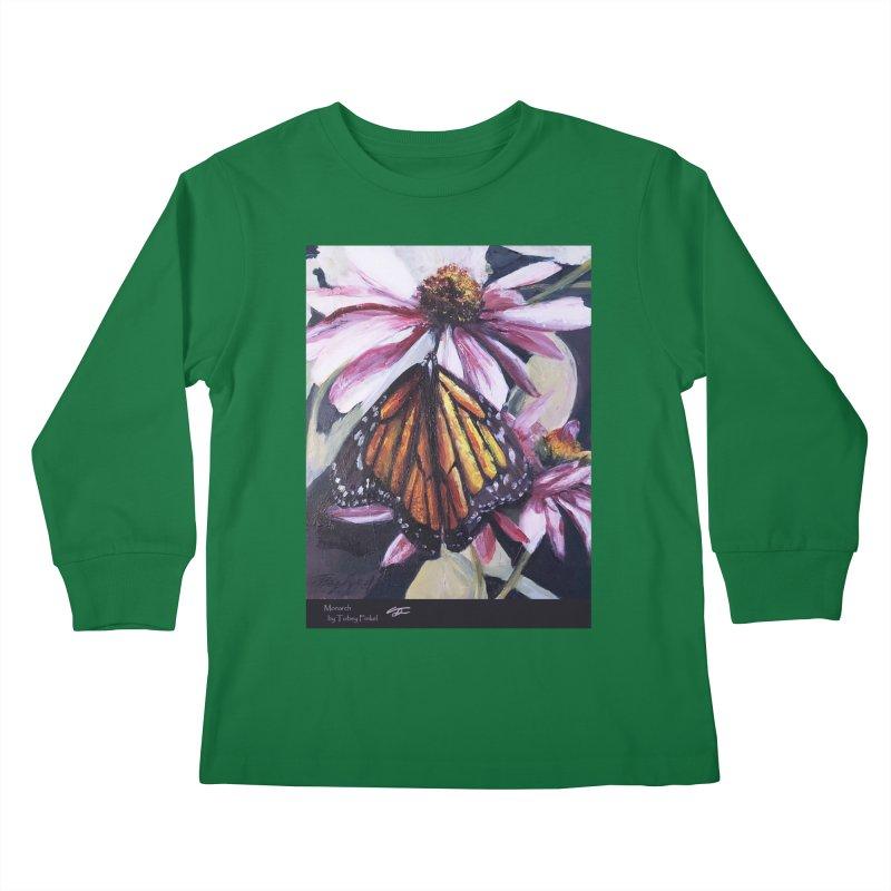 Monarch Kids Longsleeve T-Shirt by Tobey Finkel's Artist Shop