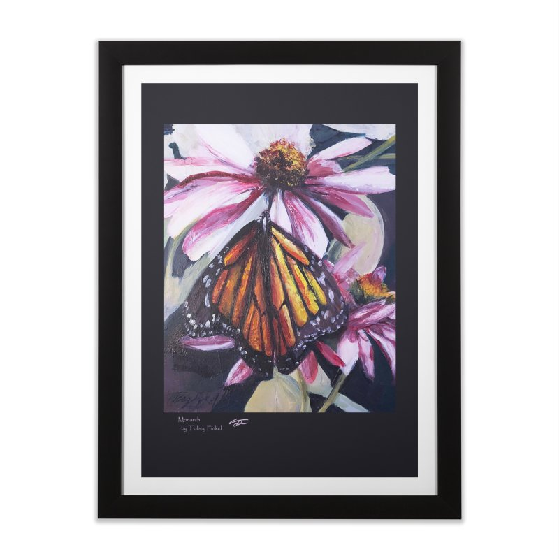 Monarch Home Framed Fine Art Print by Tobey Finkel's Artist Shop