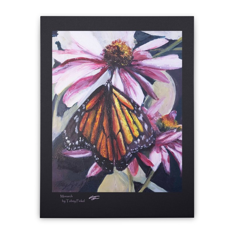 Monarch Home Stretched Canvas by Tobey Finkel's Artist Shop