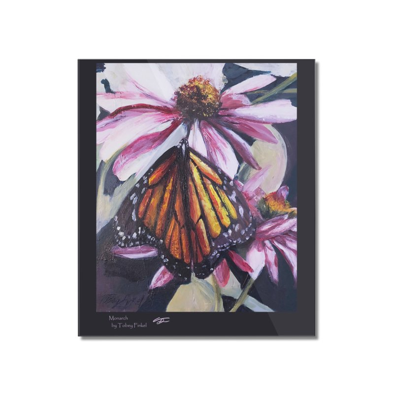 Monarch Home Mounted Acrylic Print by Tobey Finkel's Artist Shop