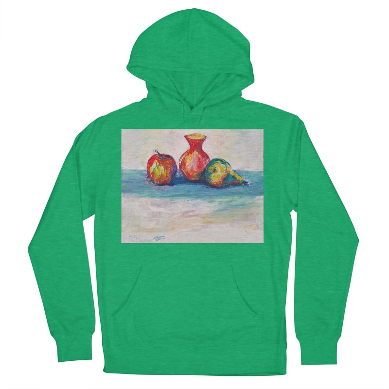 Still Life Women's French Terry Pullover Hoody by Tobey Finkel's Artist Shop