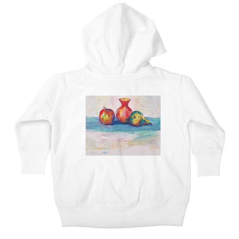 Still Life Kids Baby Zip-Up Hoody by Tobey Finkel's Artist Shop