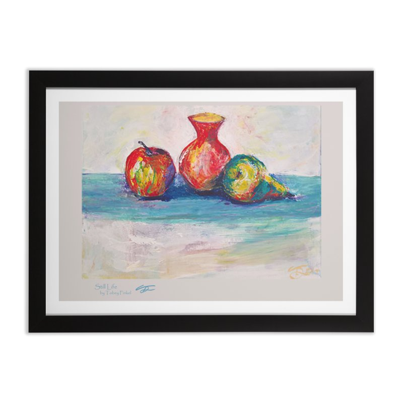 Still Life Home Framed Fine Art Print by Tobey Finkel's Artist Shop