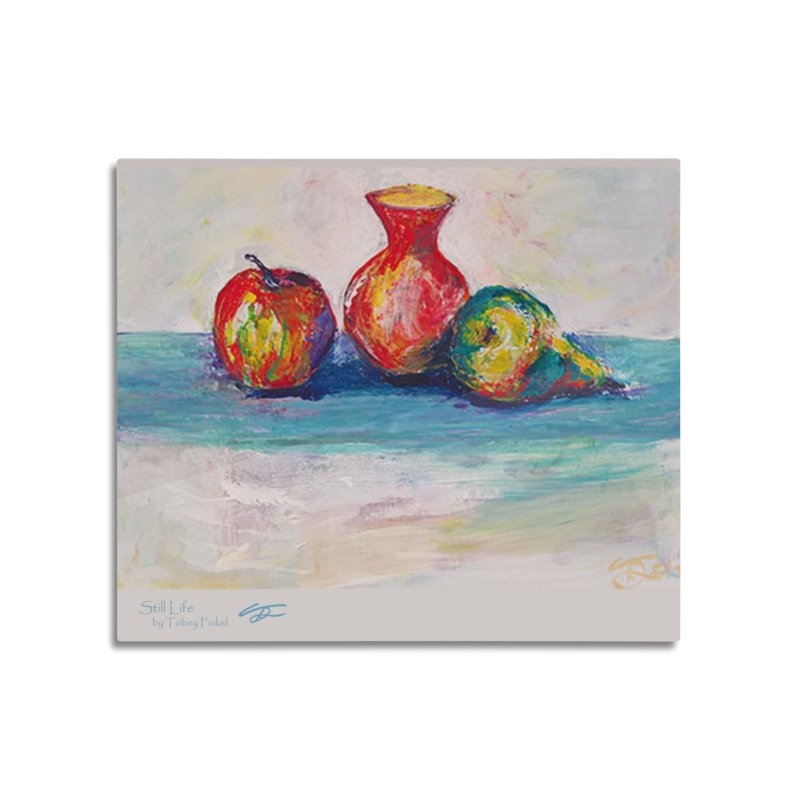 Still Life Home Mounted Aluminum Print by Tobey Finkel's Artist Shop