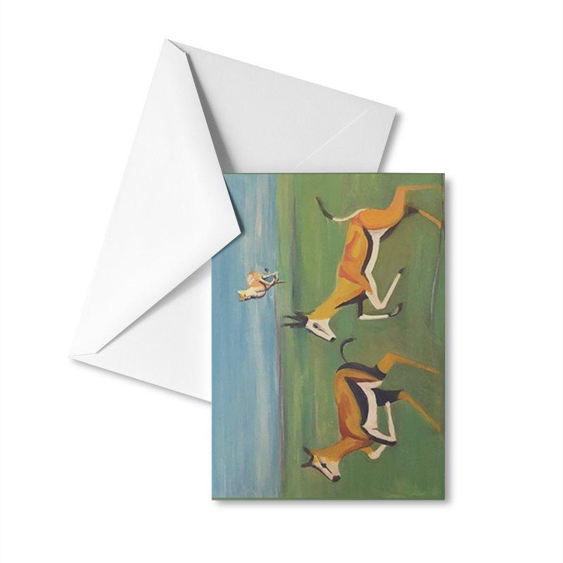 Cheetah Accessories Greeting Card by Tobey Finkel's Artist Shop