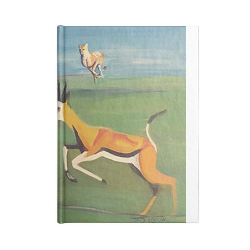 Cheetah Accessories Notebook by Tobey Finkel's Artist Shop