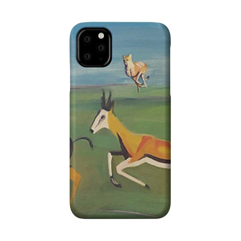 Cheetah Accessories Phone Case by Tobey Finkel's Artist Shop