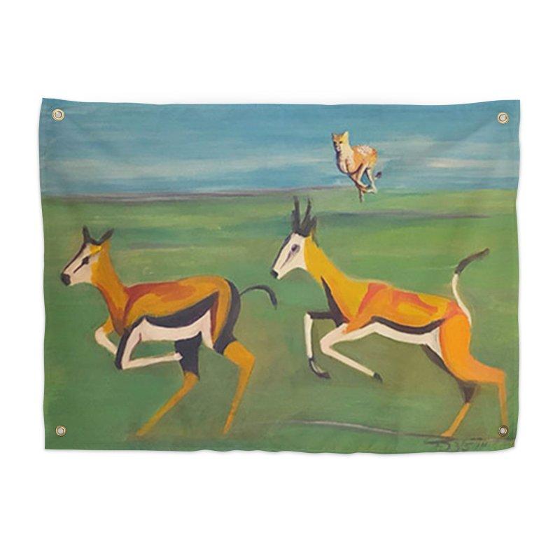 Cheetah Home Tapestry by Tobey Finkel's Artist Shop