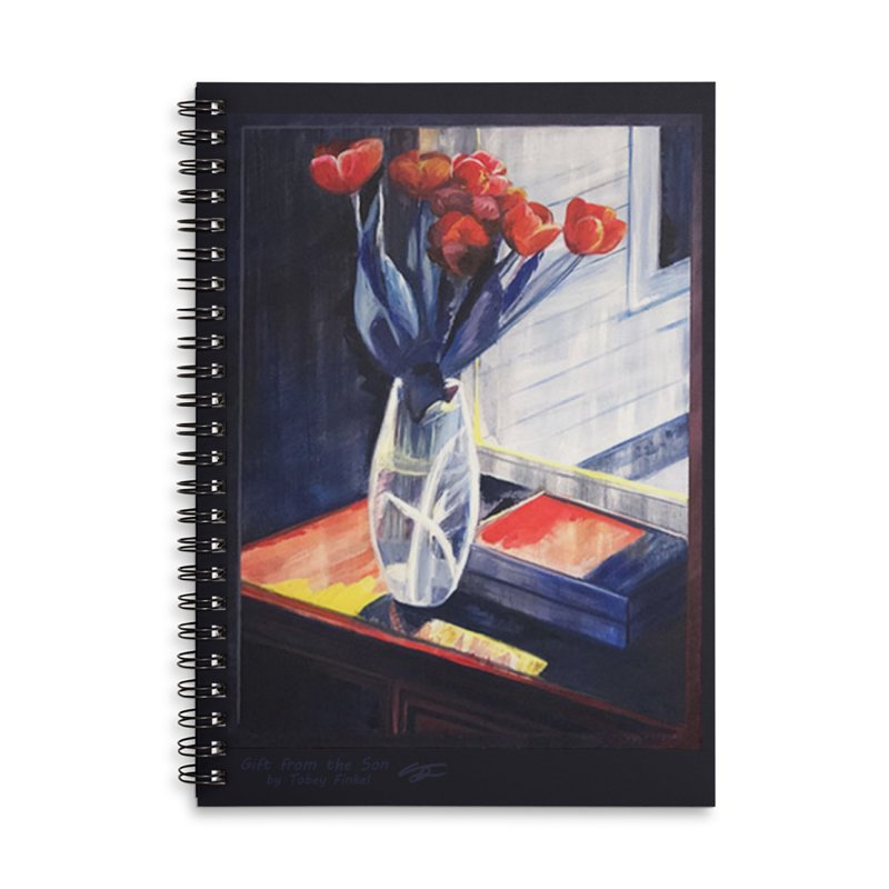 Gift from the Son Accessories Notebook by Tobey Finkel's Artist Shop