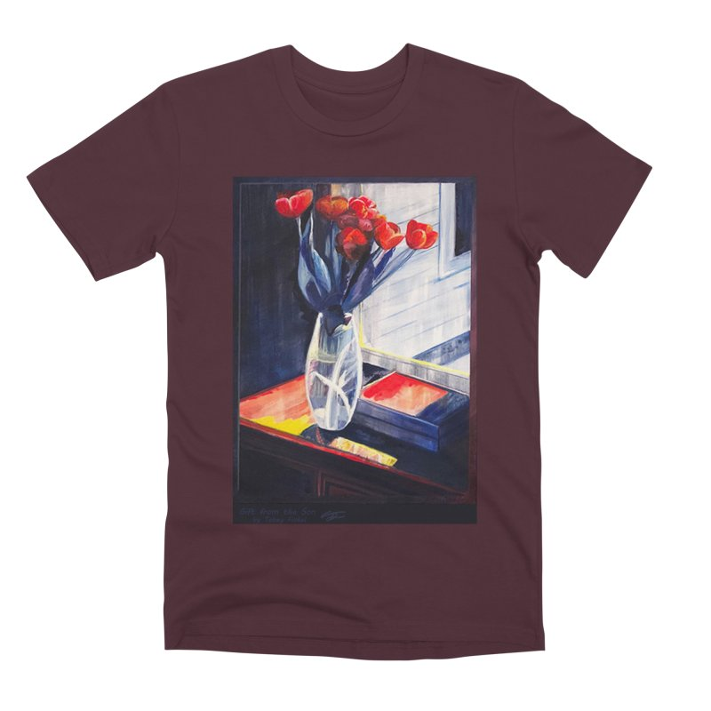 Gift from the Son Men's Premium T-Shirt by Tobey Finkel's Artist Shop