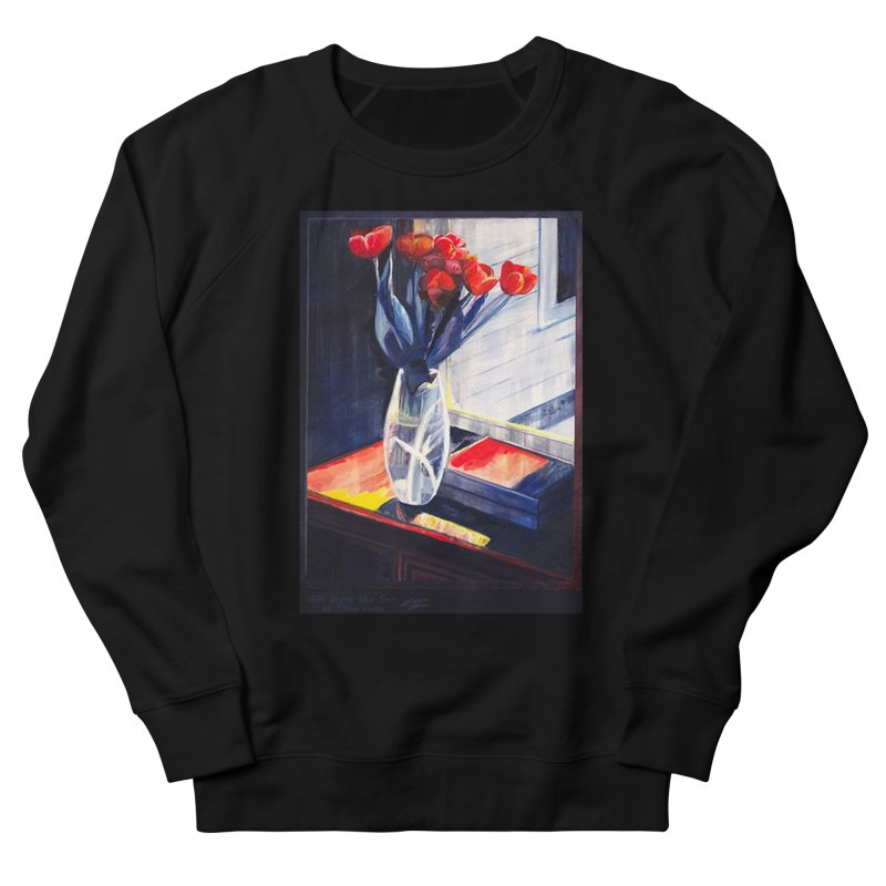 Gift from the Son Women's French Terry Sweatshirt by Tobey Finkel's Artist Shop