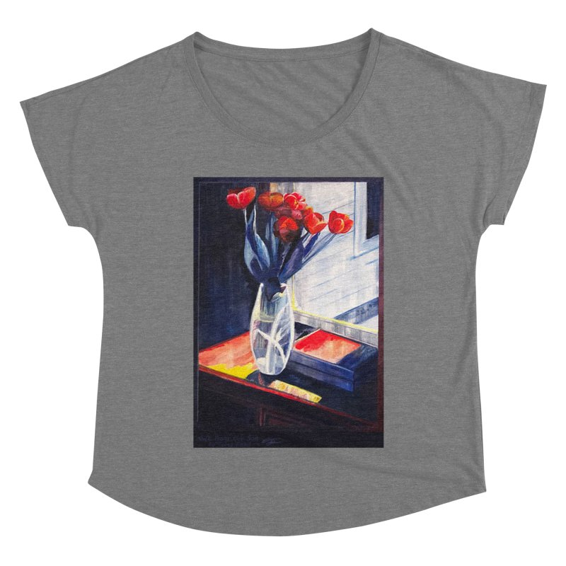 Gift from the Son Women's Scoop Neck by Tobey Finkel's Artist Shop
