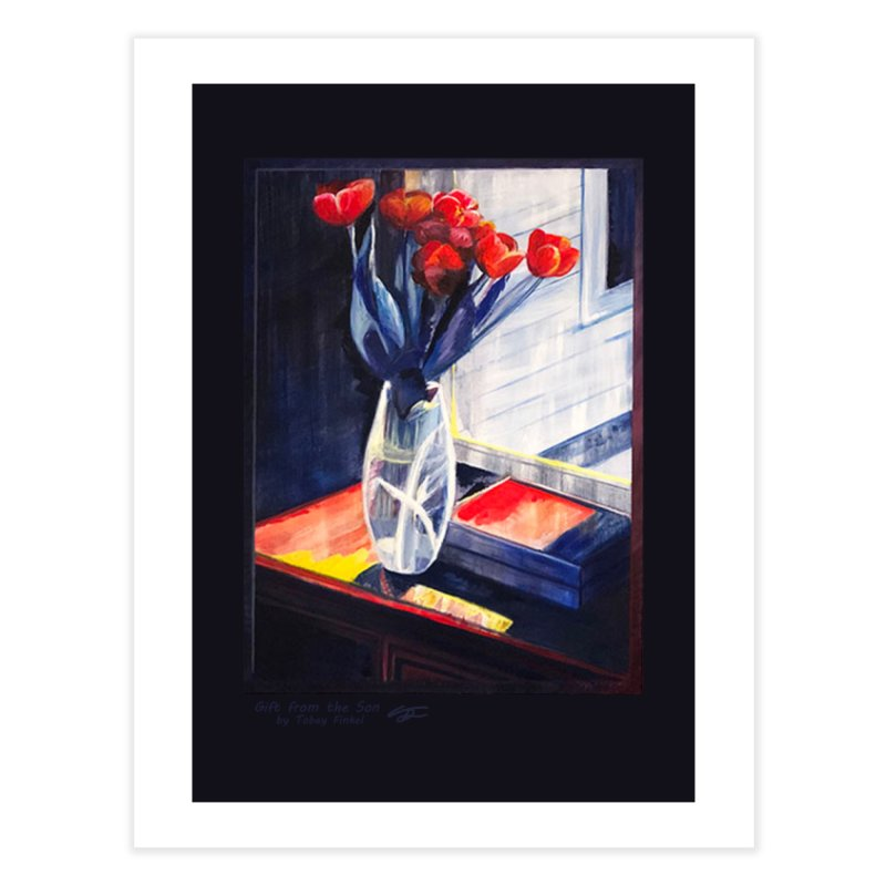 Gift from the Son Home Fine Art Print by Tobey Finkel's Artist Shop