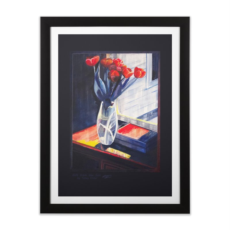 Gift from the Son Home Framed Fine Art Print by Tobey Finkel's Artist Shop