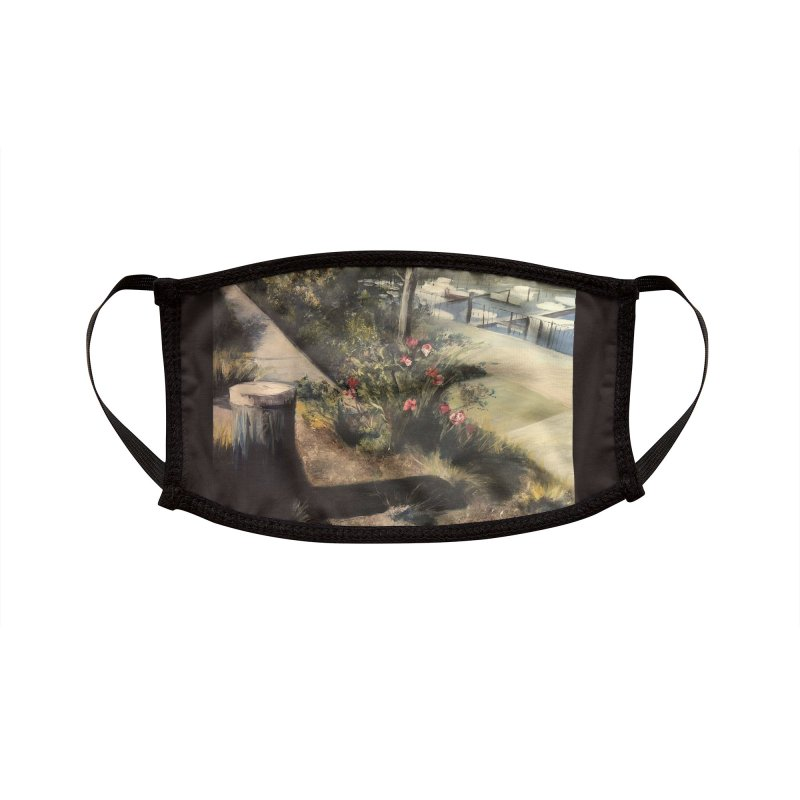 Fall at the Marina Accessories Face Mask by Tobey Finkel's Artist Shop