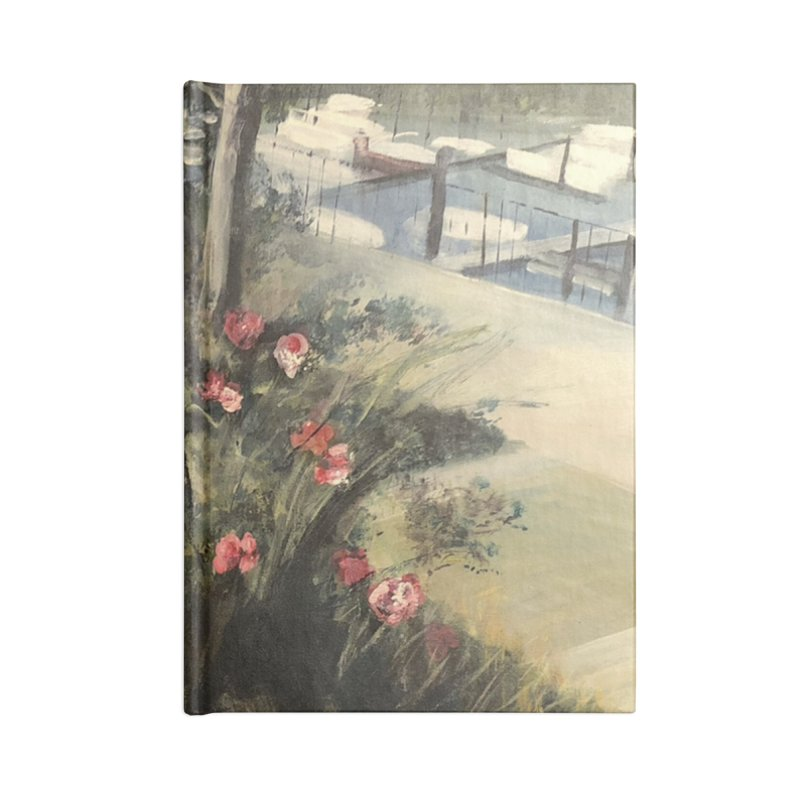 Fall at the Marina Accessories Notebook by Tobey Finkel's Artist Shop