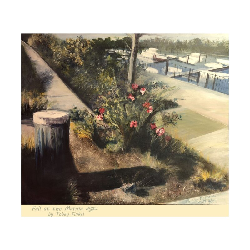Fall at the Marina by Tobey Finkel's Artist Shop
