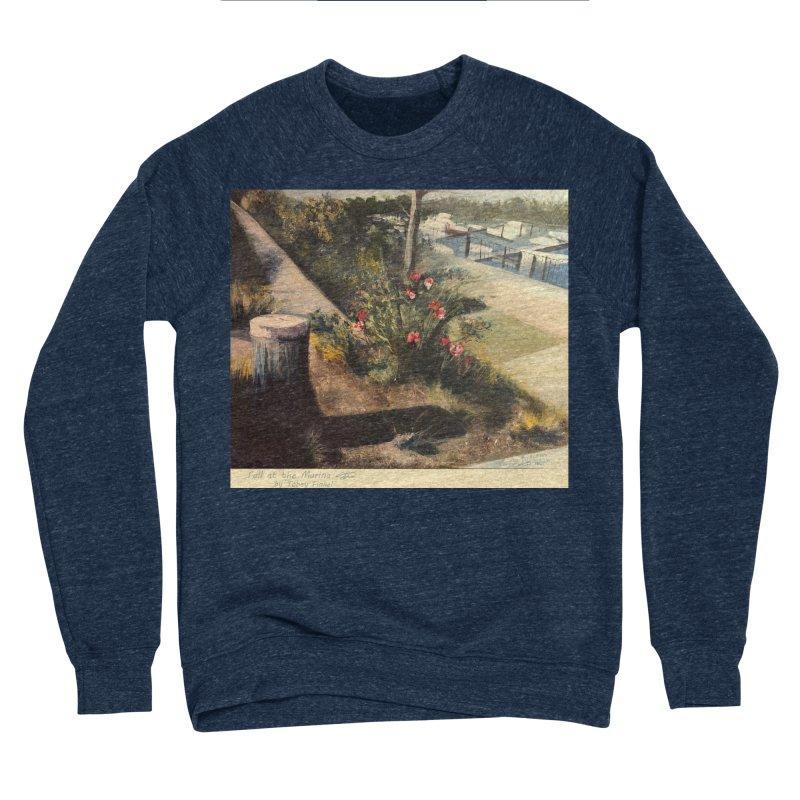 Fall at the Marina Women's Sponge Fleece Sweatshirt by Tobey Finkel's Artist Shop