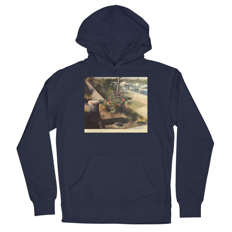 Fall at the Marina Men's Pullover Hoody by Tobey Finkel's Artist Shop