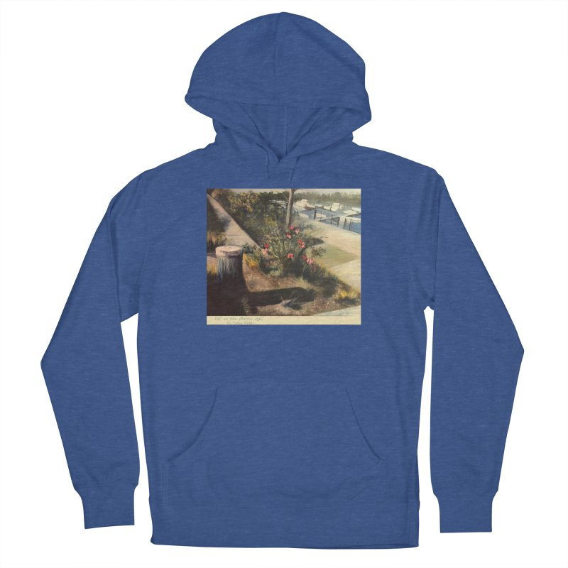 Fall at the Marina Women's Pullover Hoody by Tobey Finkel's Artist Shop