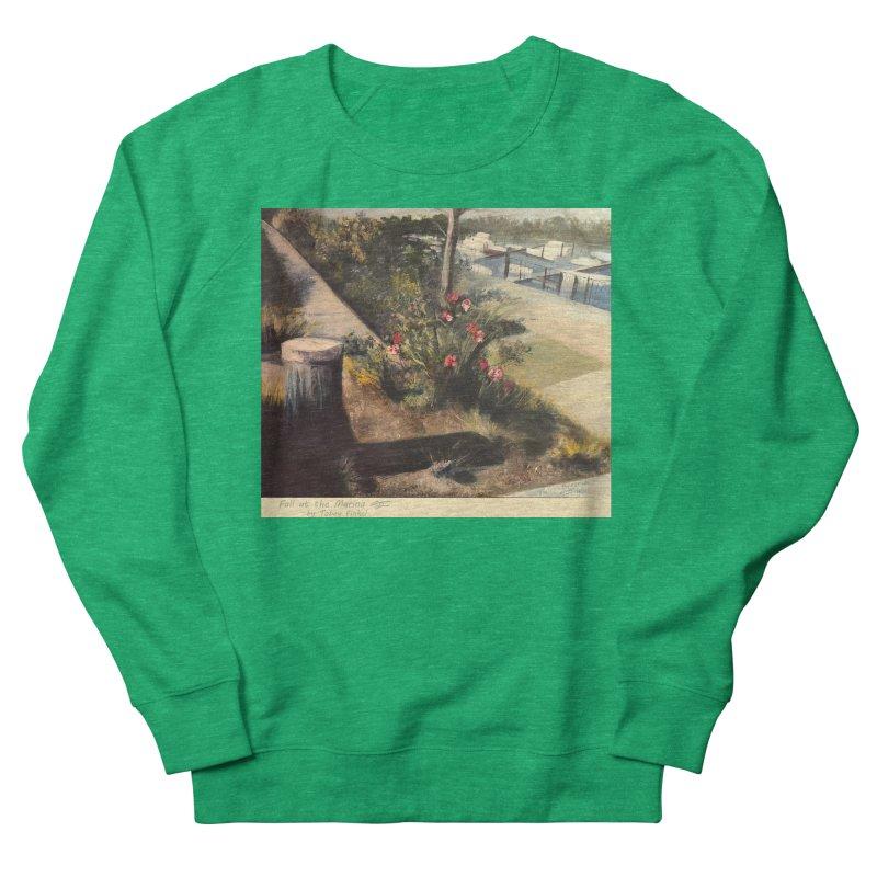 Fall at the Marina Women's Sweatshirt by Tobey Finkel's Artist Shop