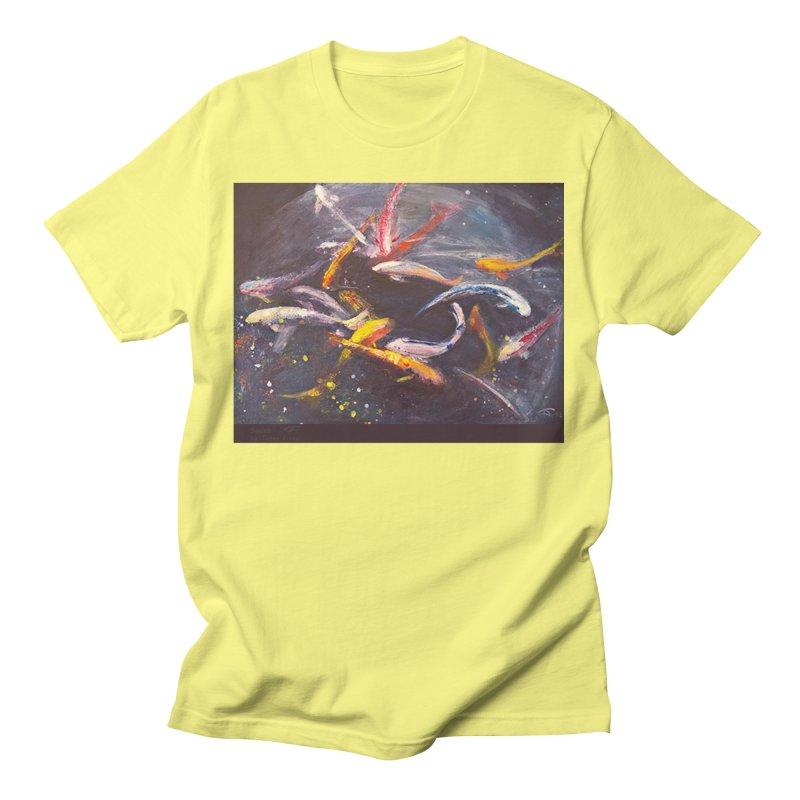 Swim Men's T-Shirt by Tobey Finkel's Artist Shop
