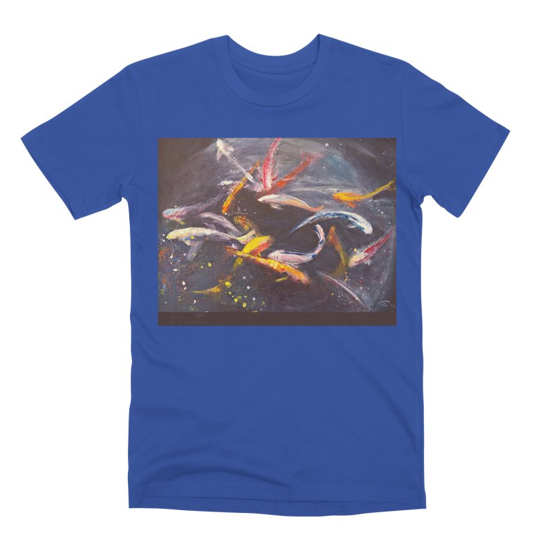 Swim Men's T-Shirt by Tobey Finkel's Artist Shop