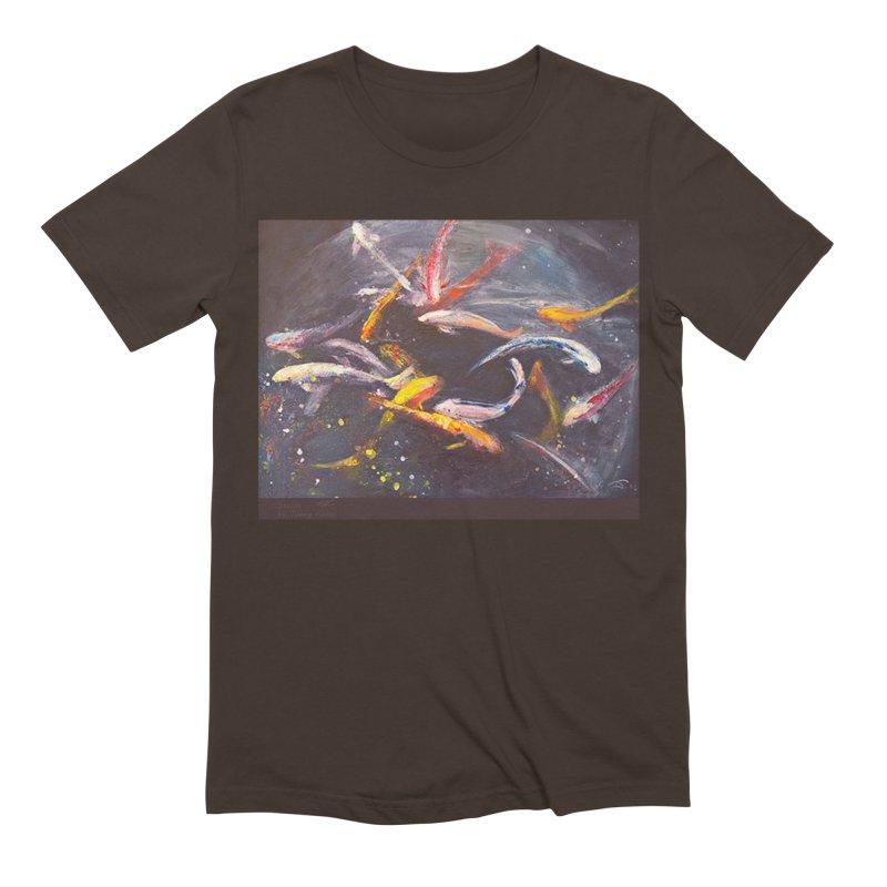Swim Men's Extra Soft T-Shirt by Tobey Finkel's Artist Shop