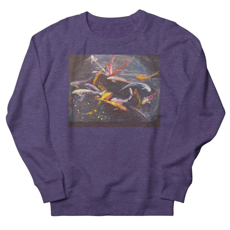 Swim Women's French Terry Sweatshirt by Tobey Finkel's Artist Shop