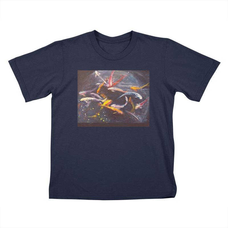 Swim Kids T-Shirt by Tobey Finkel's Artist Shop