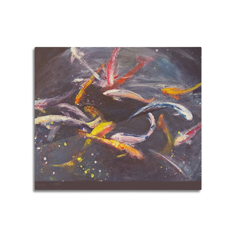 Swim Home Mounted Acrylic Print by Tobey Finkel's Artist Shop
