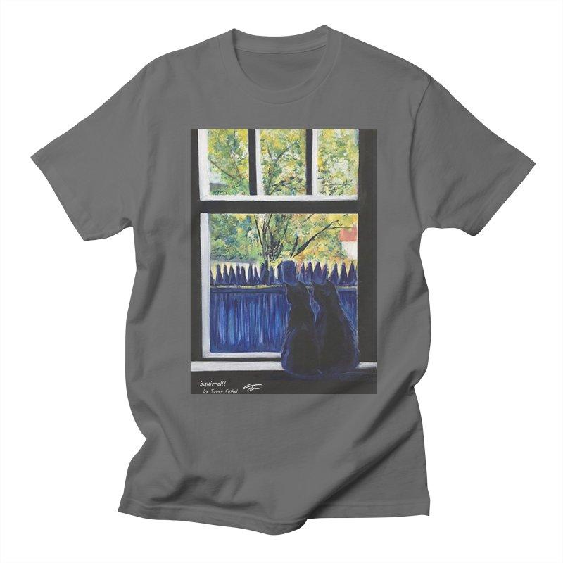 Squirrel!! Men's T-Shirt by Tobey Finkel's Artist Shop