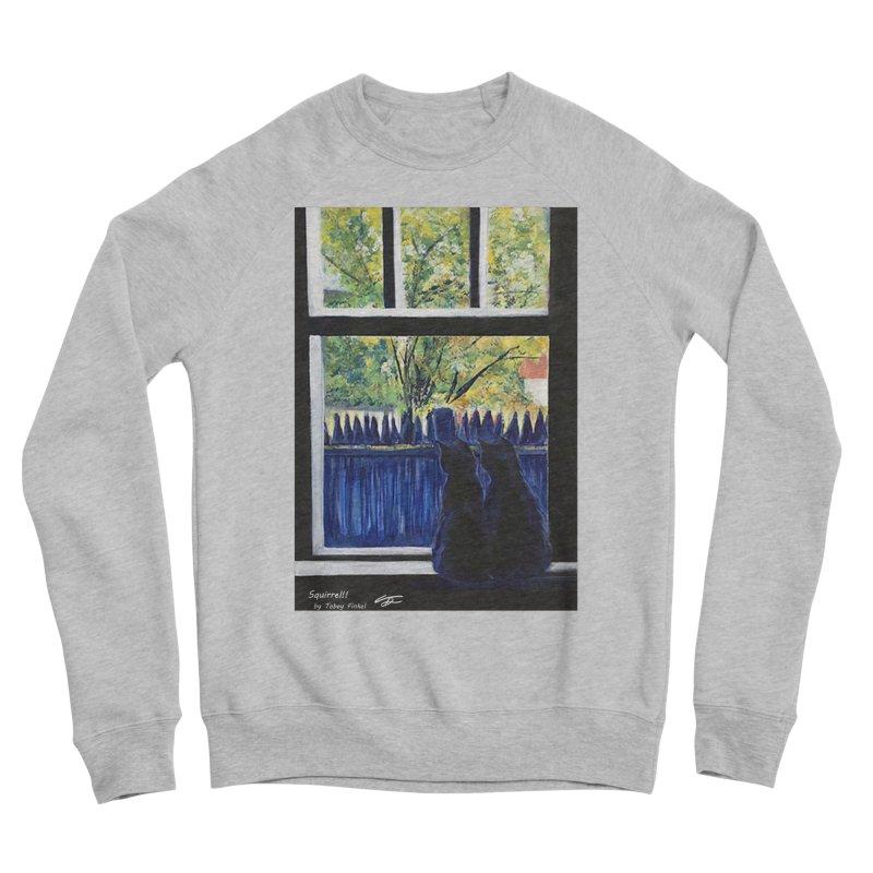 Squirrel!! Women's Sponge Fleece Sweatshirt by Tobey Finkel's Artist Shop