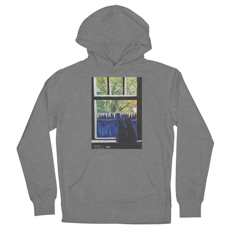 Squirrel!! Women's Pullover Hoody by Tobey Finkel's Artist Shop