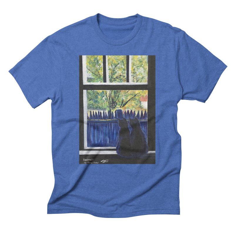 Squirrel!! Men's T-Shirt by Tobey Finkel's Artist Shop