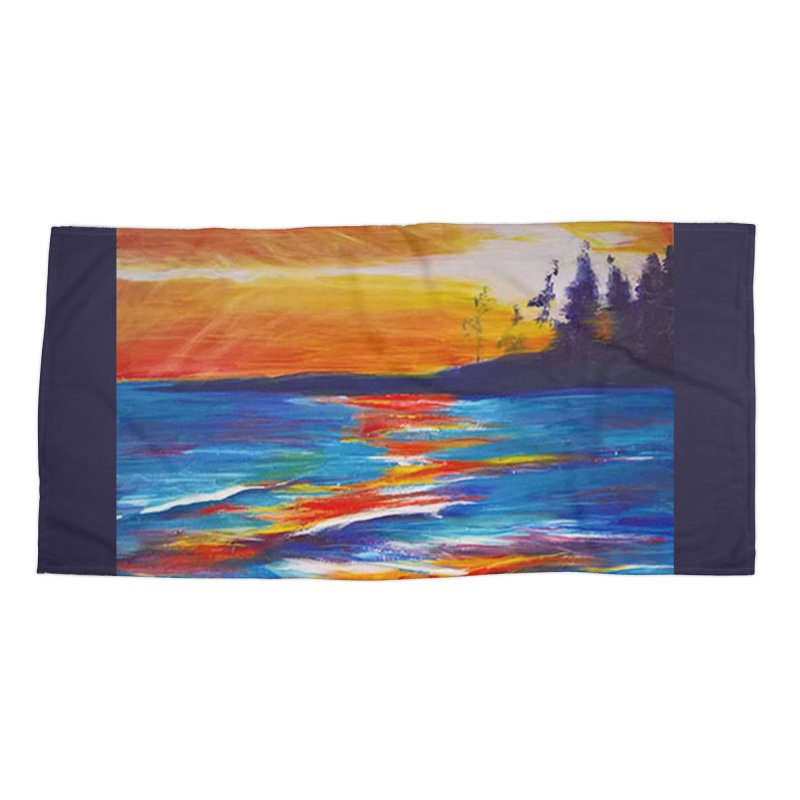 Down East Accessories Beach Towel by Tobey Finkel's Artist Shop