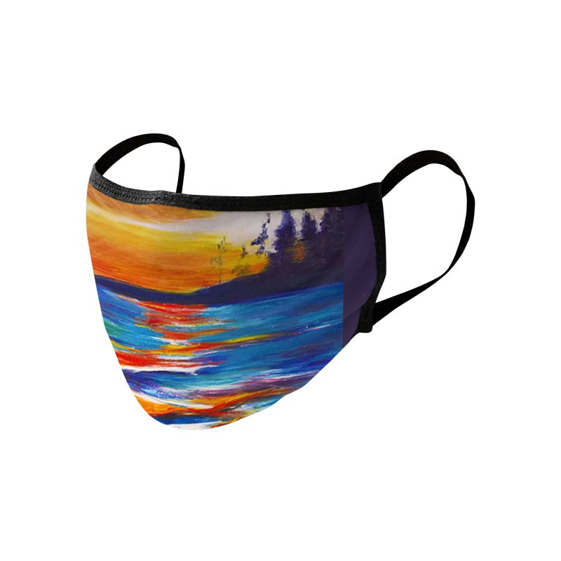 Down East Accessories Face Mask by Tobey Finkel's Artist Shop