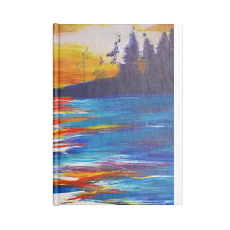 Down East Accessories Notebook by Tobey Finkel's Artist Shop