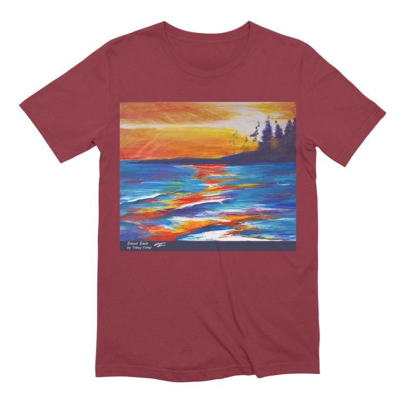 Down East Men's Extra Soft T-Shirt by Tobey Finkel's Artist Shop