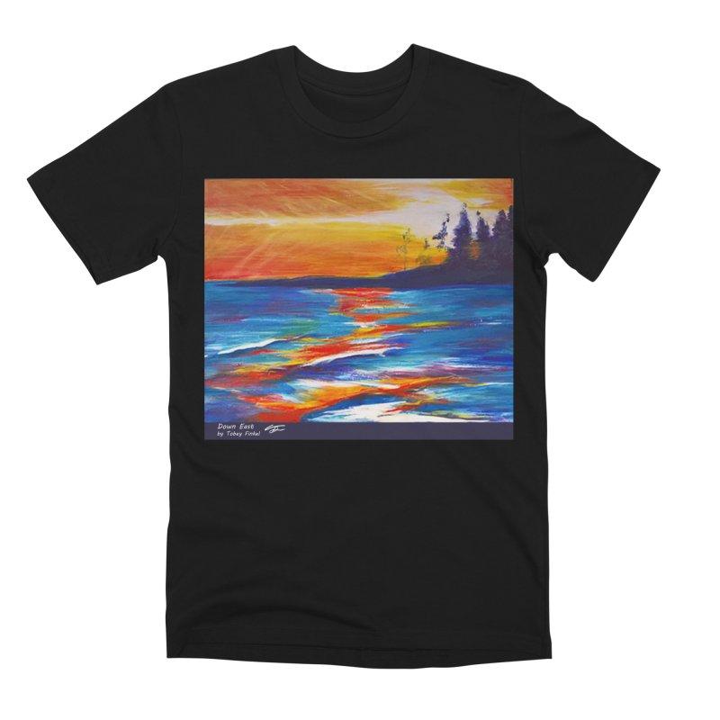 Down East Men's Premium T-Shirt by Tobey Finkel's Artist Shop