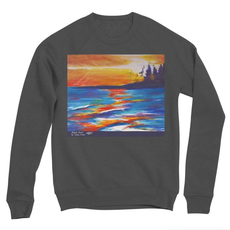 Down East Women's Sponge Fleece Sweatshirt by Tobey Finkel's Artist Shop