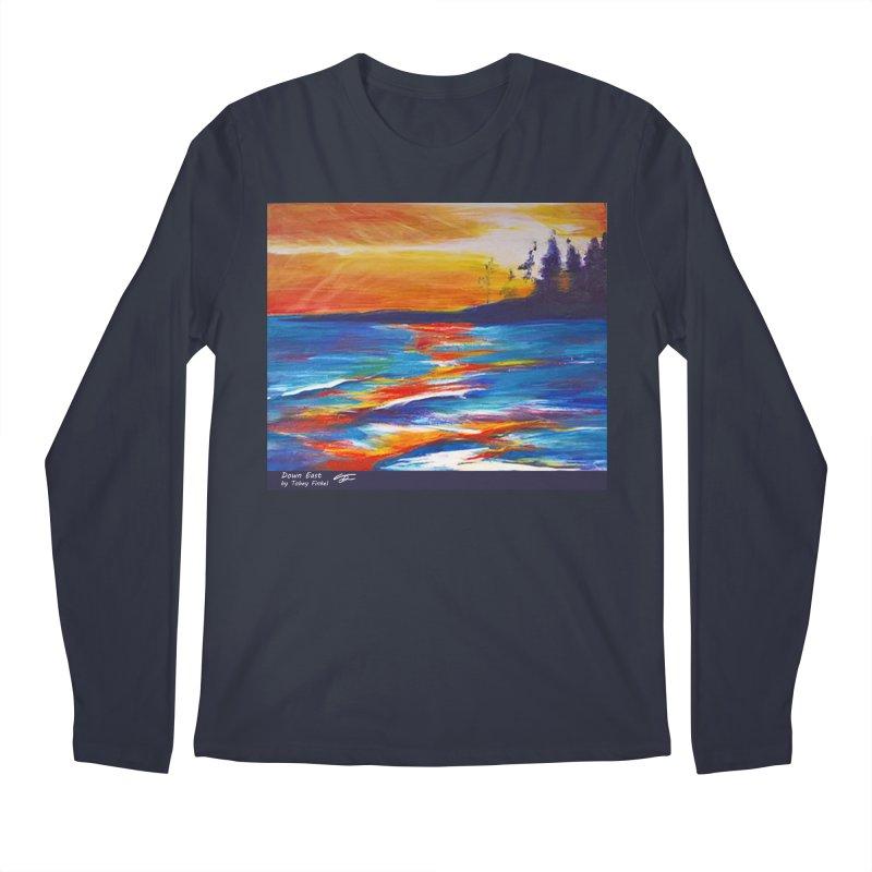 Down East Men's Longsleeve T-Shirt by Tobey Finkel's Artist Shop