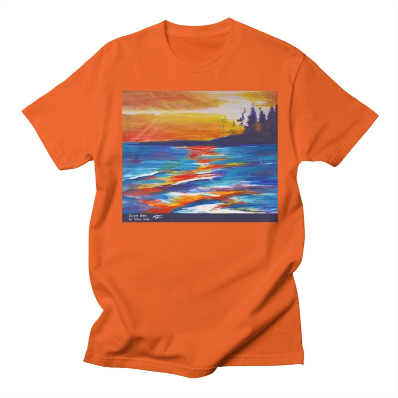 Down East Men's T-Shirt by Tobey Finkel's Artist Shop