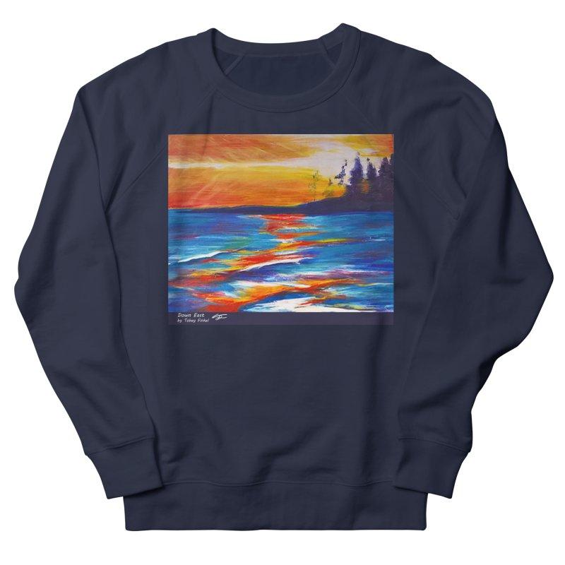 Down East Women's French Terry Sweatshirt by Tobey Finkel's Artist Shop