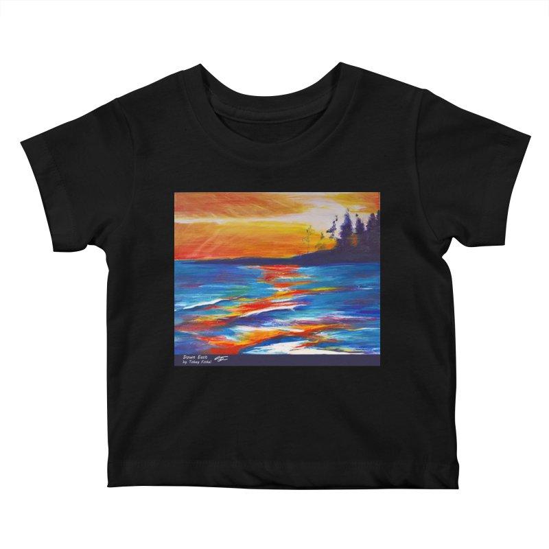 Down East Kids Baby T-Shirt by Tobey Finkel's Artist Shop
