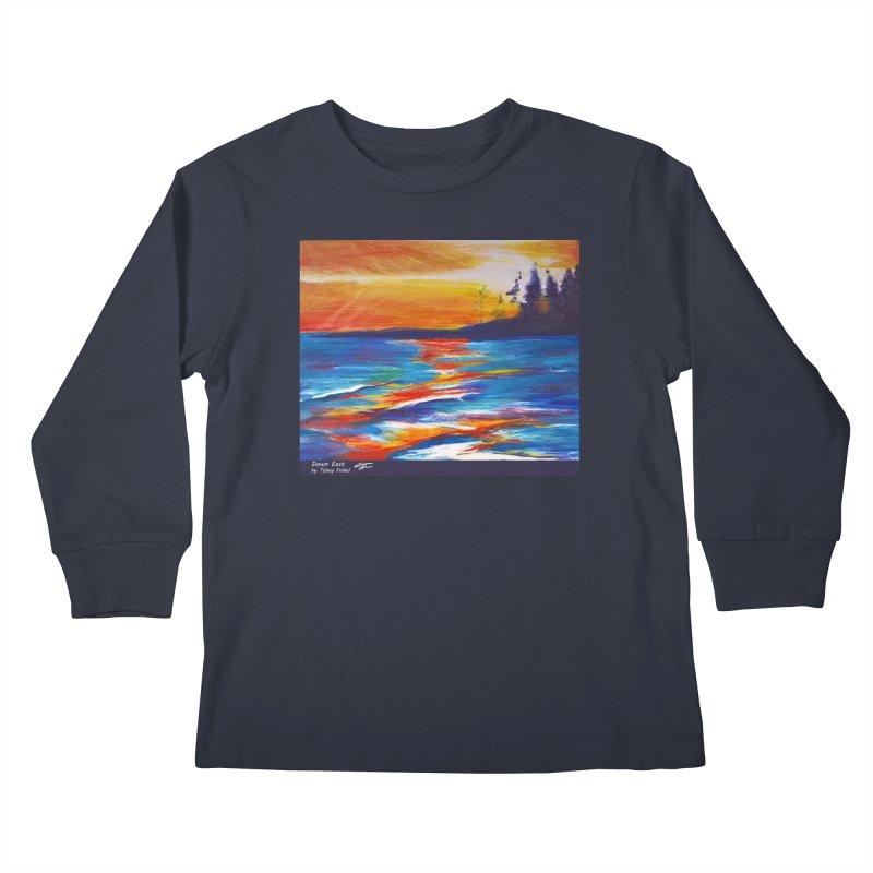 Down East Kids Longsleeve T-Shirt by Tobey Finkel's Artist Shop