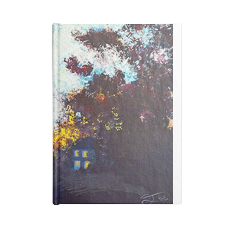 Lights On Accessories Notebook by Tobey Finkel's Artist Shop