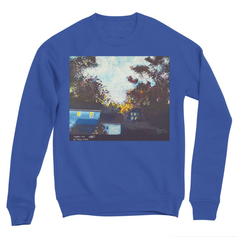 Lights On Women's Sweatshirt by Tobey Finkel's Artist Shop